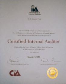 cia designation