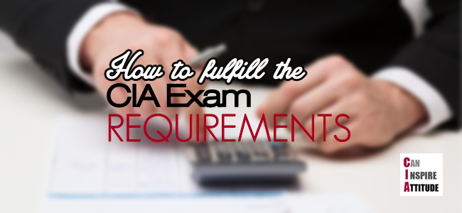 cia exam requirements