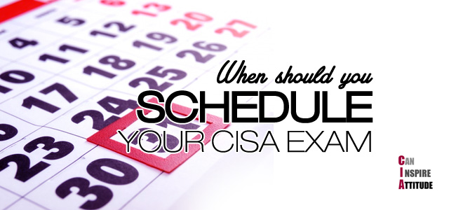 cisa exam dates