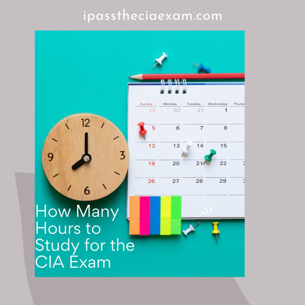 cia exam study hours