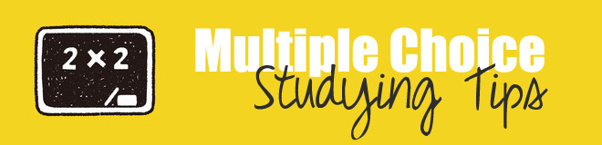 multiple choice studying tips