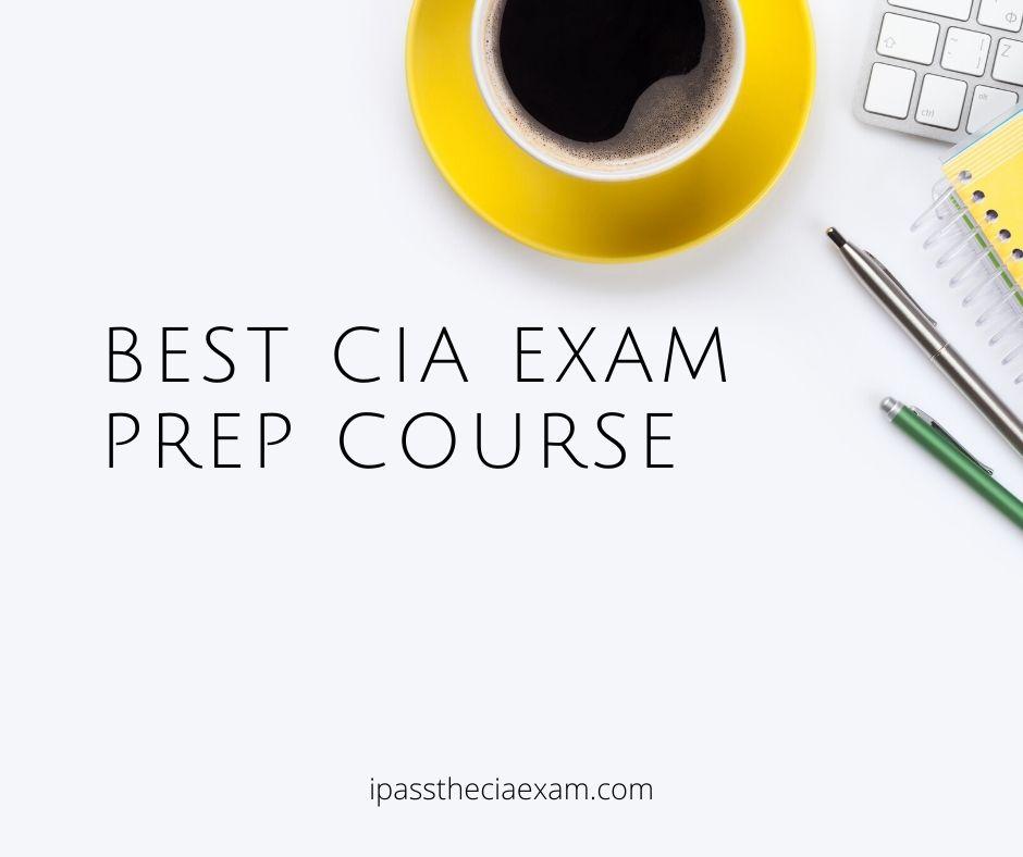 cia exam study materials comparison