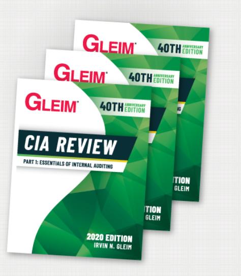 gleim cia 2020 book discount